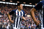 Gareth Barry of West Bromwich Albion runs out ahead of the The Emirates FA Cup Fifth Round between West Bromwich Albion v Southampton at The Hawthorns on February 17, 2018 in West Bromwich, England.