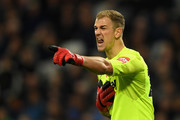 Joe Hart of West Ham United reacts during the Premier League match between West Ham United and Liverpool at London Stadium on November 4, 2017 in London, England.