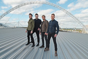 Shane Filan, Mark Feehily, Kian Egan and Nicky Byrne of Westlife announce first every show at Wembley Stadium on September 12, 2019 in London, England.