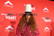 "Erykah Badu attends the U.S. Premiere of ""What Men Want"" in partnership with CÃŽROC and presented by Paramount Pictures, Paramount Players, BET Films and Will Packer Productions at the Regency Village Theatre on January 28, 2019 in Los Angeles, California."
