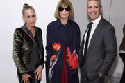 """Sarah Jessica Parker, Anna Wintour, and Andy Cohen attends """"The White Crow"""" New York Premiere at Metrograph on April 22, 2019 in New York City."""