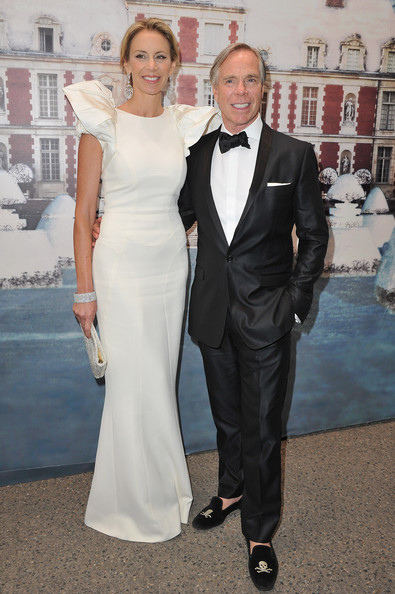 Tommy Hilfiger and wife attend 'The White Fairy Tale Love Ball' in Support Of 'The Naked Heart Foundation' at Chateau De Wideville on July 6, 2011 in Crespieres, France.