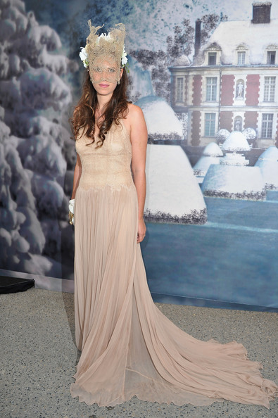 Tatiana Santo Domingo attends 'The White Fairy Tale Love Ball' in Support Of 'The Naked Heart Foundation' at Chateau De Wideville on July 6, 2011 in Crespieres, France.