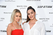 Ariana Madix and Kate Maloney attend White Fox Boutique Swimwear Launch Of 100% Salty at Catch on July 26, 2018 in West Hollywood, California.