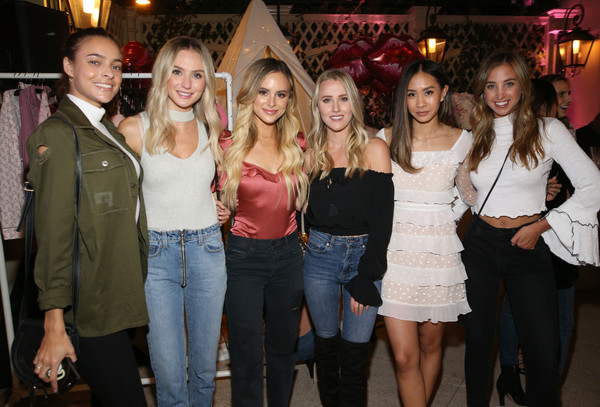 Victoria's Secret Hosts Ultimate Girls Night in With Angels Josephine Skriver and Romee Strijd