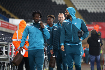 Wilfried Bony Swansea City v Arsenal - Premier League