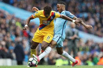 Wilfried Zaha Manchester City v Crystal Palace - Premier League