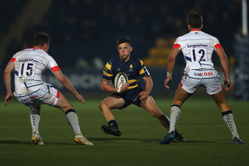 Will Butler Worcester Warriors v Sale Sharks - Anglo-Welsh Cup