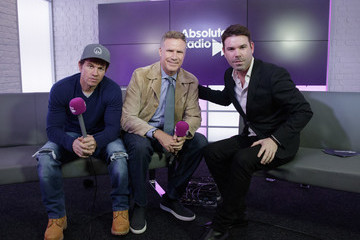 Will Ferrell Will Ferrell and Mark Wahlberg Visit Absolute Radio