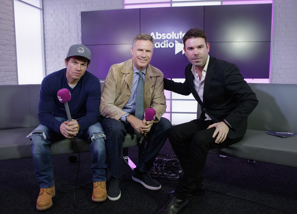 Will Ferrell and Mark Wahlberg Visit Absolute Radio