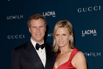 Will Ferrell Viveca Paulin LACMA 2013 Art + Film Gala Honoring Martin Scorsese And David Hockney Presented By Gucci - Red Carpet
