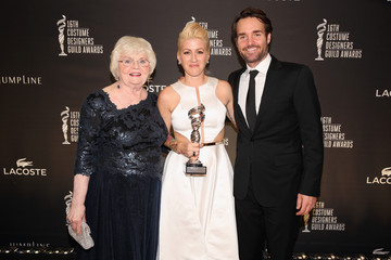Will Forte June Squibb 16th Costume Designers Guild Awards With Presenting Sponsor Lacoste - Green Room