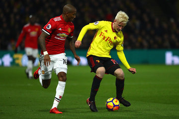 Will Hughes Watford v Manchester United - Premier League