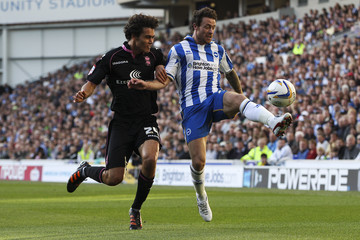 Will Packwood Brighton & Hove Albion v Birmingham City - npower Championship