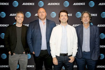 Will Sasso Peter Farrelly AT&T AUDIENCE Network Premiere of 'Mr. Mercedes'