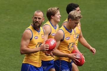 Will Schofield West Coast Eagles Training Session