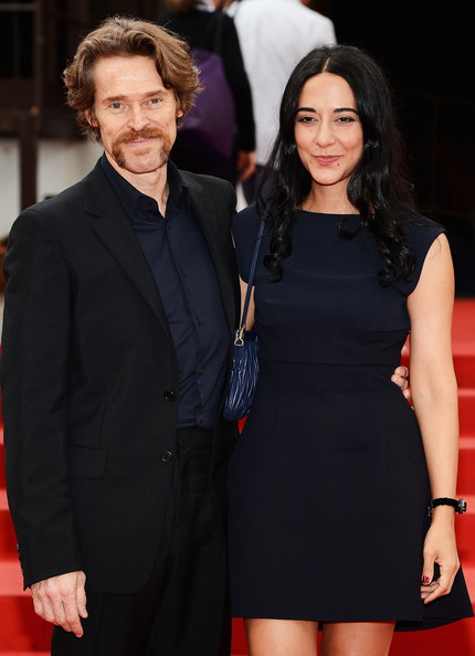 Actor Willem Dafoe with his wife Giada Colagrande attend ...  Willem Dafoe And Wife
