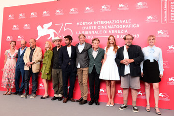 Willem Dafoe Jean-Claude Carriere 'At Eternity's Gate' Photocall - 75th Venice Film Festival