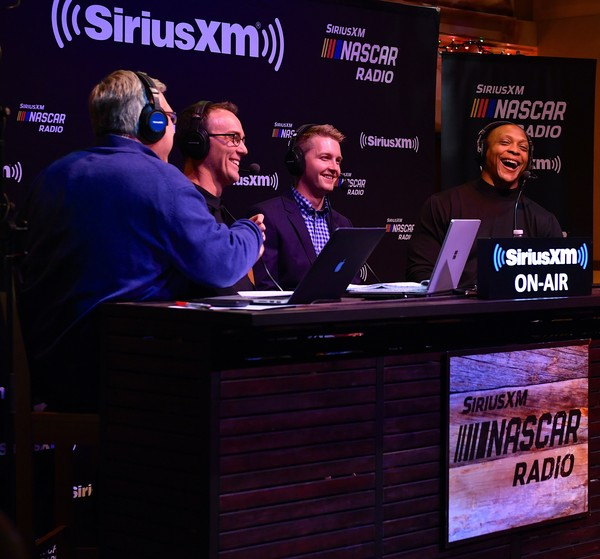 Kevin Harvick Hosts His SiriusXM NASCAR Radio Show Happy Hours Live At Margaritaville In Nashville