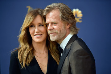 William H. Macy 70th Emmy Awards - Arrivals