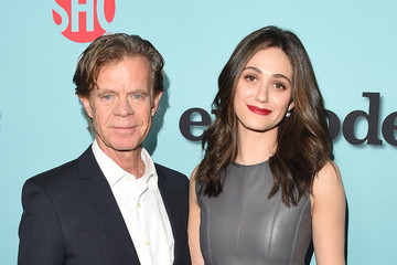 William H. Macy Emmy Rossum Showtime Celebrates New Seasons of Its Shows — Part 3