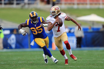William Hayes San Francisco 49ers v Los Angeles Rams