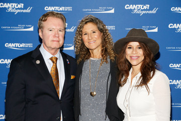 William Keegan Annual Charity Day Hosted By Cantor Fitzgerald, BGC and GFI - Cantor Fitzgerald Office - Arrivals