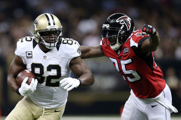 William Moore Atlanta Falcons v New Orleans Saints