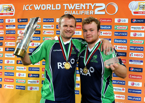 ICC World Twenty20 Qualifier: Final - Ireland v Afghanistan