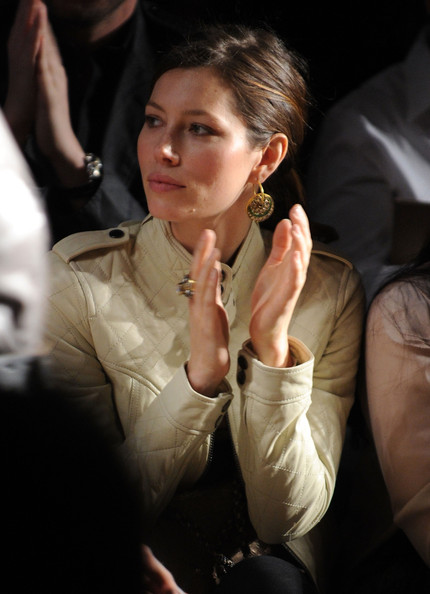 Jessica Biel Actress Jessica Biel attends the William Rast Fall 2010 Fashion Show during Mercedes-Benz Fashion Week at Cedar Lake on February 17, 2010 in New York City.