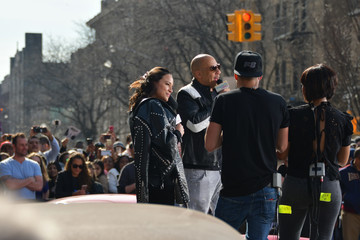 William Valdes Vin Diesel and Michelle Rodriguez Visit Washington Heights on Behalf of 'The Fate of the Furious'