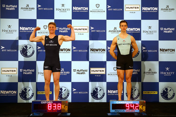William Warr The BNY Mellon Boat Races Weigh-In