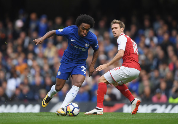 Willian+Chelsea+v+Arsenal+Premier+League