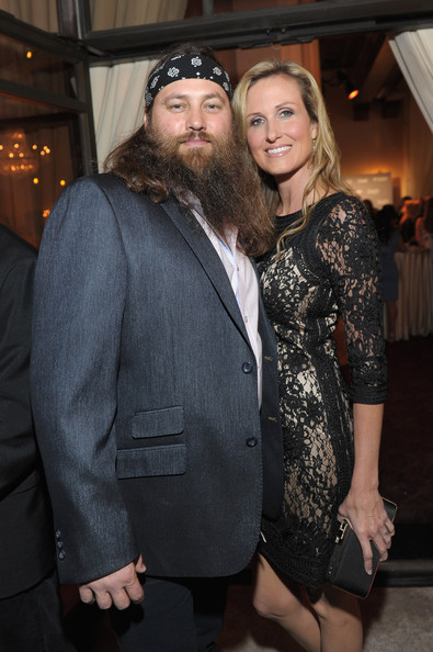 Preparation for the PEOPLE/TIME Party in Washington, D.C. [party on the eve of the white house correspondents,fashion,event,facial hair,outerwear,suit,beard,fur,formal wear,fashion design,willie robertson,korie robertson of duck dynasty,dinner,washington dc,people,party on the eve of the white house correspondents dinner]