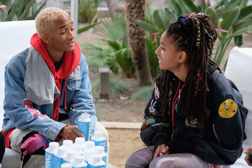 Willow Smith Jaden Smith March For Our Lives Los Angeles