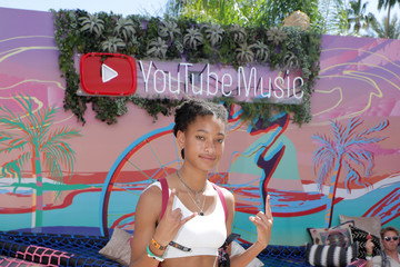 Willow Smith YouTube Music Artist Lounge At Coachella 2019 - Day 2