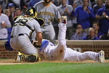 Willson Contreras Pittsburgh Pirates vs. Chicago Cubs