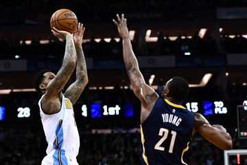 Wilson Chandler Indiana Pacers v Denver Nuggets