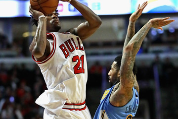 Wilson Chandler Denver Nuggets v Chicago Bulls