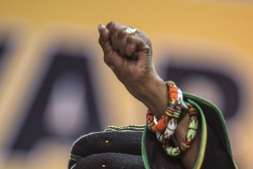 Winnie Mandela S.Africa's Troubled ANC Meets to Elect New Leader