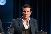 Actor Pablo Schreiber speaks onstage during 'The Brink' panel at the HBO portion of the 2015 Winter Television Critics Association press tour at the Langham Hotel on January 8, 2015 in Pasadena, California.