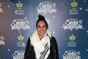 Heather Watson attends the VIP Launch of Hyde Park Winter Wonderland on November 21, 2018 in London, England.