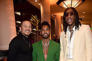 """Wiz Khalifa Miguel Pre-GRAMMY Gala and GRAMMY Salute to Industry Icons Honoring Sean """"Diddy"""" Combs - Inside"""