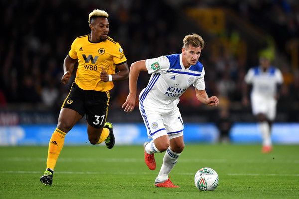Wolverhampton Wanderers v Leicester City - Carabao Cup Third Round