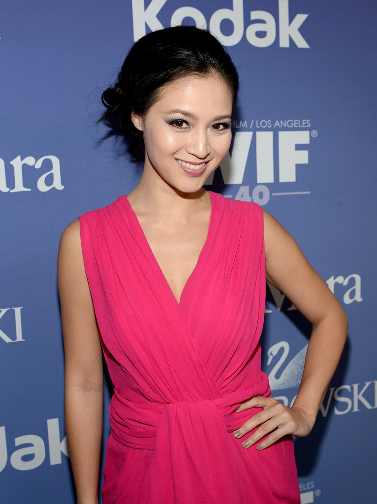 Grace Huang Photos Photos - Arrivals at the Crystal + Lucy ...