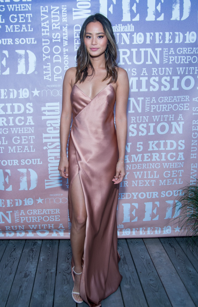 Jamie Chung at the Women's Health Magazine Party in NYC 8/7/2016