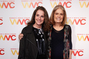 Actress Debra Winger (L) and co-founder of The Women's Media Center, Gloria Steinem attend The Women's Media Center 2015 Women's Media Awards on November 5, 2015 in New York City.
