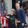 Megan Rapinoe Bill de Blasio Photos