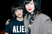 Director Ana Lily Amirpour (L) and musician Karen O attend the Women Under The Influence Screening of Kenzo's Yo My Saint with Karen O and Ana Lily Amirpour at NeueHouse Hollywood on March 1, 2018 in Los Angeles, California.