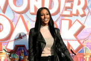 "Alexandra Burke attends the UK Gala screening of ""WONDER PARK"" at Vue Leicester Square on March 24, 2019 in London, England."